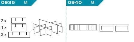 FEFCO 0935-0940: Виды и типы вставок, решеток и вкладышей для картонных коробок