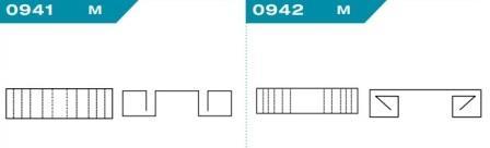 FEFCO 0941-0942: Виды и типы вставок, решеток и вкладышей для картонных коробок