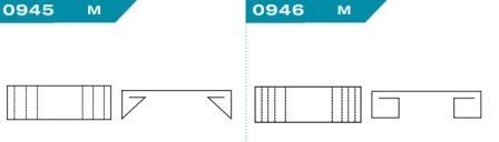 FEFCO 0945-0946: Виды и типы вставок, решеток и вкладышей для картонных коробок