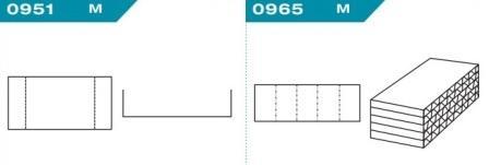 FEFCO 0951-0965: Виды и типы вставок, решеток и вкладышей для картонных коробок