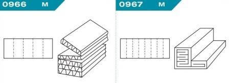 FEFCO 0966-0967: Виды и типы вставок, решеток и вкладышей для картонных коробок