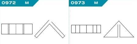 FEFCO 0972-0973: Виды и типы вставок, решеток и вкладышей для картонных коробок