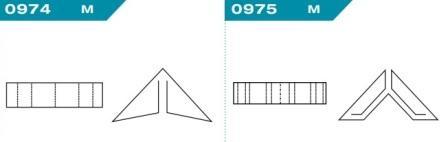 FEFCO 0974-0975: Виды и типы вставок, решеток и вкладышей для картонных коробок