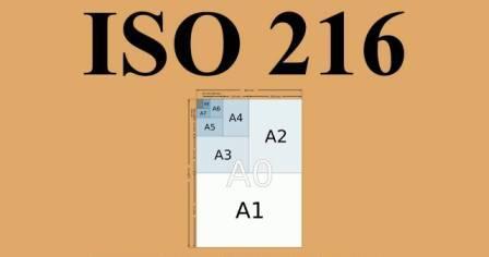 ISO 216: размеры конвертов и бумажных листов