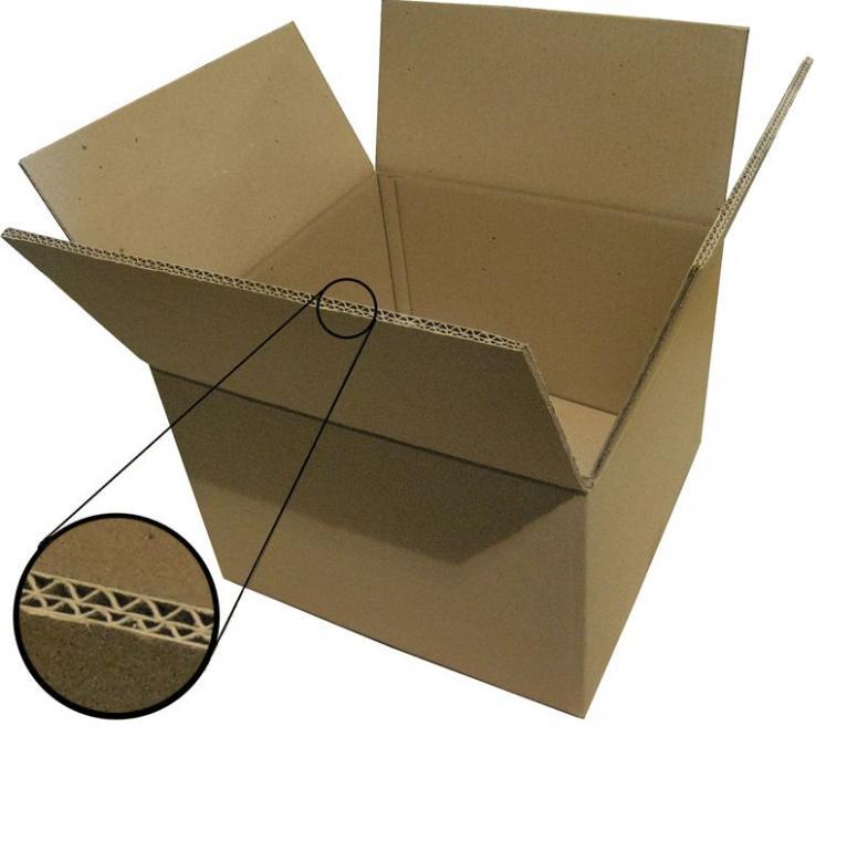 Коробка из пятислойного гофрокартона