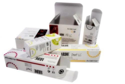 Картонные коробки для лекарств и медицинских препаратов