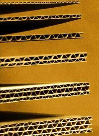 Виды листового гофрированного картона