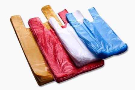 Разноцветные пакеты для упаковки