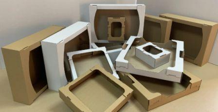Самосборные коробки различного типа