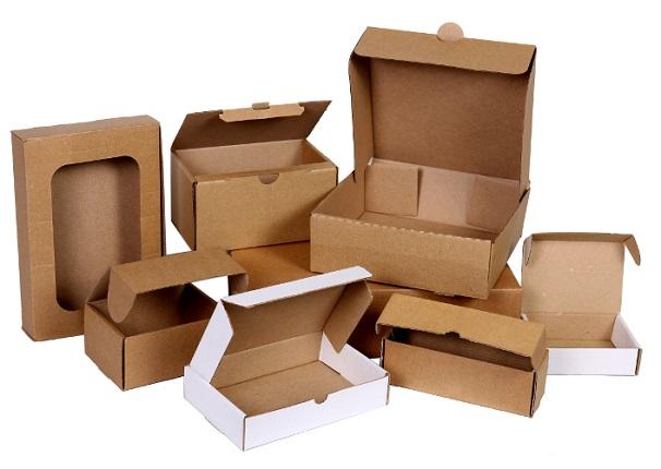 Картонные лотки и другие самосборные коробки для упаковки товара