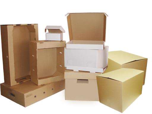 Виды картонных коробок в Киеве