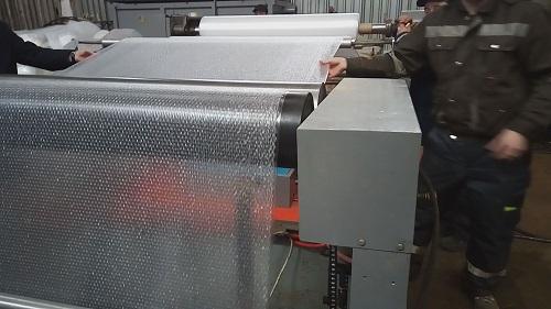 Процесс изготовления воздушно-пузырчатой пленки