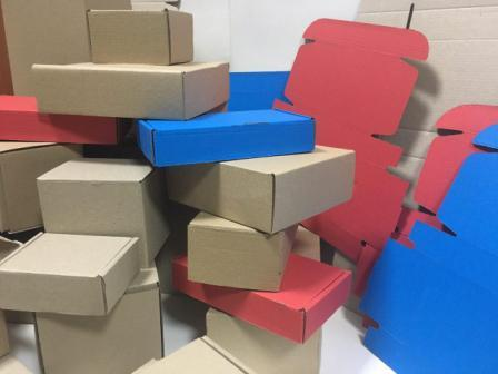 Картонные коробки и гофроящики трехслойные и пятислойные любых размеров недорого в Днепропетровской области