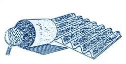 Виды и типы упаковочного гофрокартона: двухслойный гофрокартон