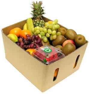 Изготовление овощных и фруктовых картонных коробок любых размеров недорого Харьков Киев Украина
