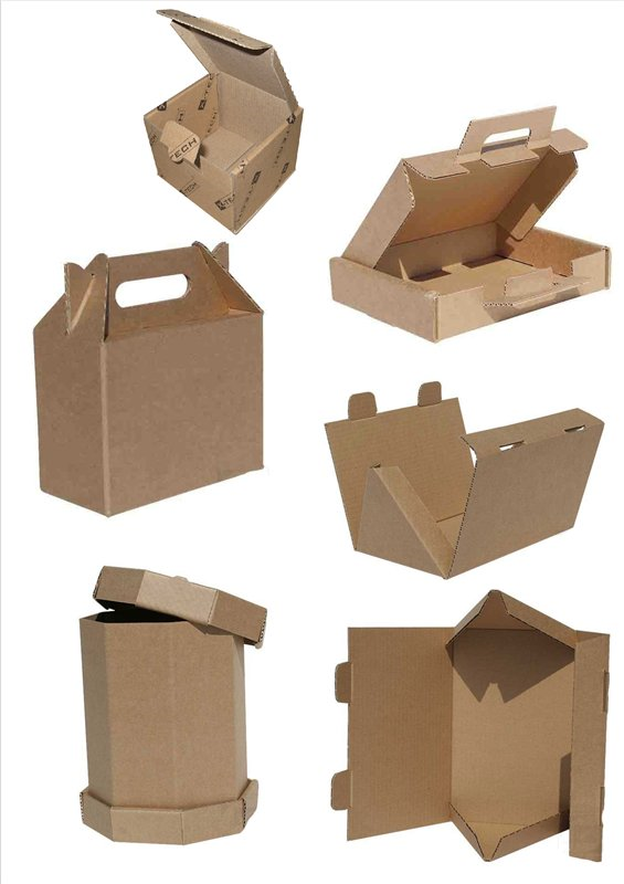 Картонные коробки необычной формы