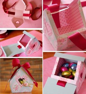 Створюємо коробку для подарунків: крок 2