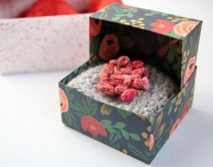 Створення коробки для подарунка крок 3