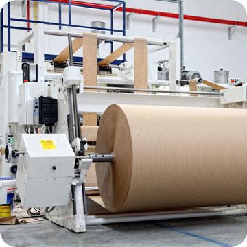 Процесс производства бумаги для упаковки