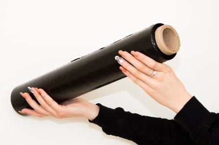 Стрейч-пленка черная - недорогой вид упаковочной пленки
