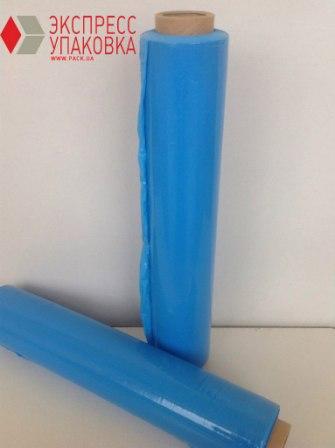Синяя стретч-пленка для ручной обмотки