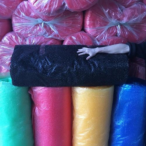 Цветная воздушно-пузырчатая пленка для упаковки товаров и грузов