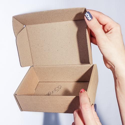 Самосборная коробка из микрогофрокартона