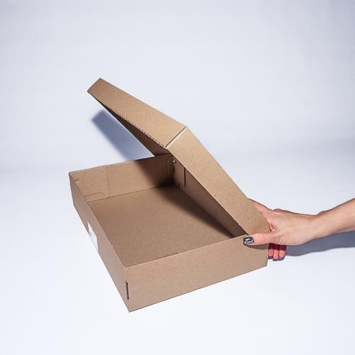 Обувная коробка из микрогофрокартона