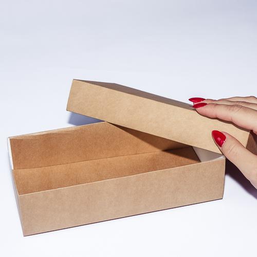 Подарочные коробки из крафт-картона