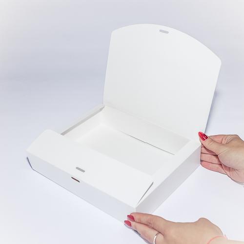 Самосборная подарочная коробка
