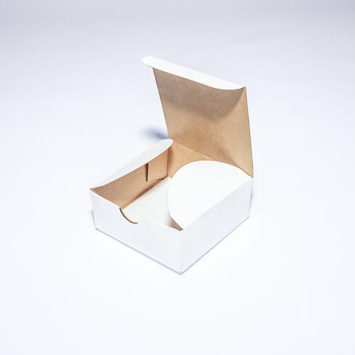 Самосборная подарочная коробка из мелованного картона