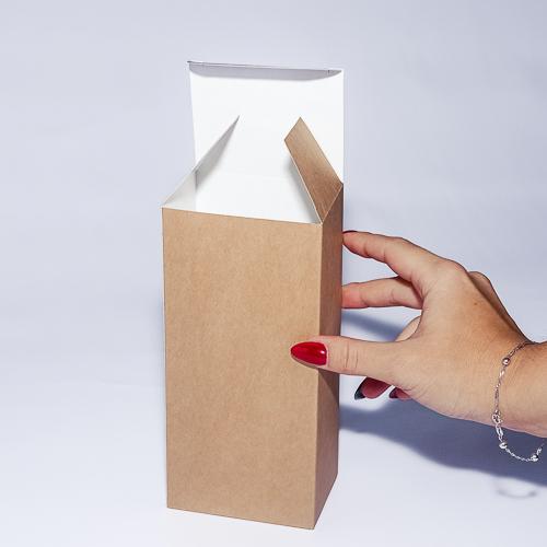 Подарочная коробка из крафт-картона