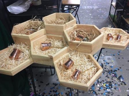 Натуральные наполнители для упаковочных коробок разного размера