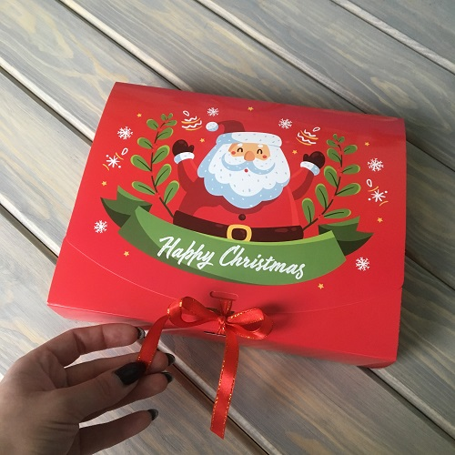 Коробка для конфет с Дедом Морозом